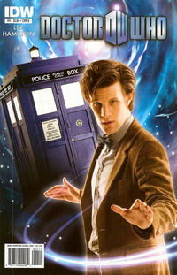 Cover Thumbnail for Doctor Who (IDW, 2011 series) #4 [Cover B]
