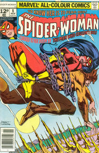 Cover for Spider-Woman (Marvel, 1978 series) #8 [Regular Edition]