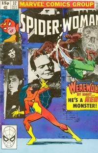 Cover Thumbnail for Spider-Woman (Marvel, 1978 series) #32 [British]