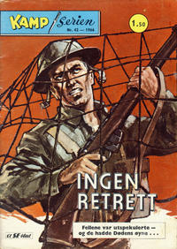 Cover Thumbnail for Kamp-serien (Serieforlaget / Se-Bladene / Stabenfeldt, 1964 series) #42/1966
