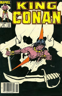 Cover Thumbnail for King Conan (Marvel, 1980 series) #19 [Newsstand Edition]