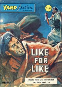 Cover Thumbnail for Kamp-serien (Serieforlaget / Se-Bladene / Stabenfeldt, 1964 series) #22/1966