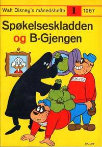 Cover Thumbnail for Walt Disney's Månedshefte (Hjemmet / Egmont, 1967 series) #1/1967