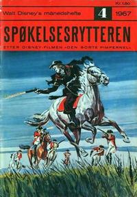 Cover Thumbnail for Walt Disney's Månedshefte (Hjemmet / Egmont, 1967 series) #4/1967