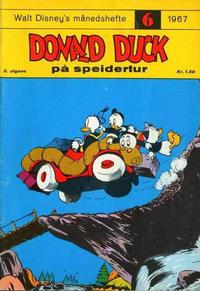 Cover Thumbnail for Walt Disney's Månedshefte (Hjemmet / Egmont, 1967 series) #6/1967