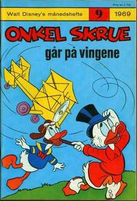 Cover Thumbnail for Walt Disney's Månedshefte (Hjemmet / Egmont, 1967 series) #9/1969