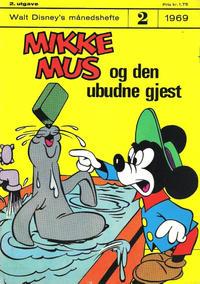 Cover Thumbnail for Walt Disney's Månedshefte (Hjemmet / Egmont, 1967 series) #2/1969