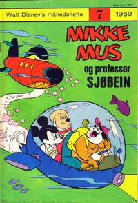 Cover Thumbnail for Walt Disney's Månedshefte (Hjemmet / Egmont, 1967 series) #7/1969