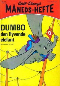 Cover Thumbnail for Walt Disney's Månedshefte (Hjemmet / Egmont, 1967 series) #4/1971