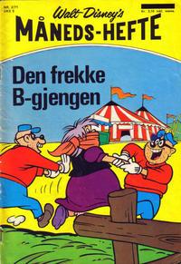 Cover Thumbnail for Walt Disney's Månedshefte (Hjemmet / Egmont, 1967 series) #2/1971