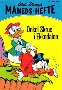 Cover Thumbnail for Walt Disney's Månedshefte (Hjemmet / Egmont, 1967 series) #1/1975