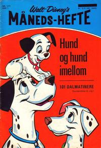 Cover Thumbnail for Walt Disney's Månedshefte (Hjemmet / Egmont, 1967 series) #1/1971