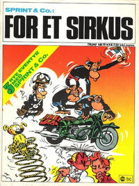 Cover Thumbnail for Trumf-serien (Forlaget For Alle A/S, 1973 series) #19 - Sprint & Co