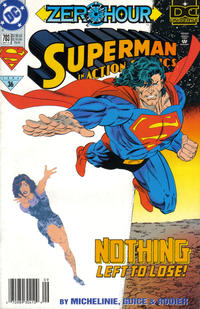 Cover Thumbnail for Action Comics (DC, 1938 series) #703 [Newsstand]