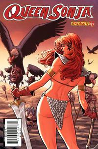 Cover Thumbnail for Queen Sonja (Dynamite Entertainment, 2009 series) #17 [Carlos Rafael Cover]