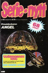 Cover Thumbnail for Serie-nytt [delas?] (Semic, 1970 series) #13/1982