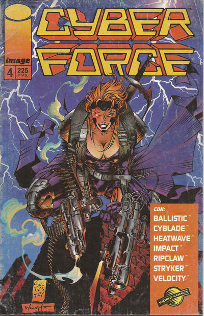 Cover for Cyberforce (Planeta DeAgostini, 1994 series) #4