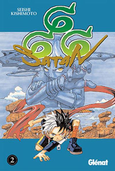 Cover for 666  Satan (Ediciones Glénat, 2009 series) #2