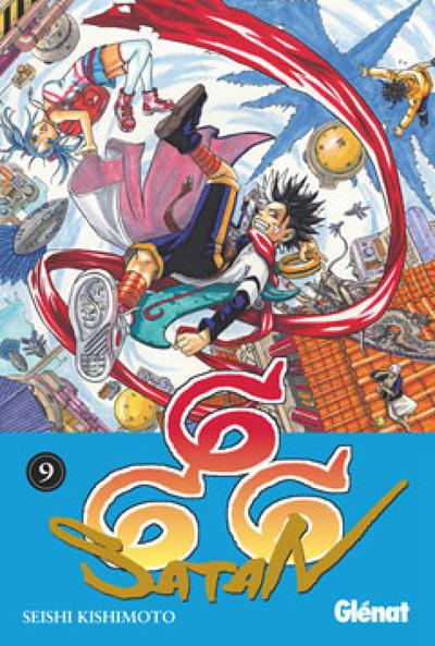 Cover for 666  Satan (Ediciones Glénat, 2009 series) #9