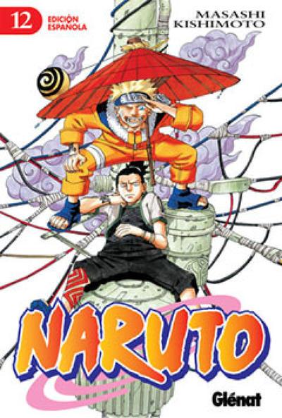 Cover for Naruto (Ediciones Glénat, 2002 series) #12