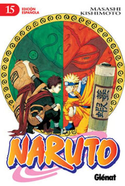 Cover for Naruto (Ediciones Glénat, 2002 series) #15