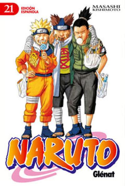 Cover for Naruto (Ediciones Glénat, 2002 series) #21