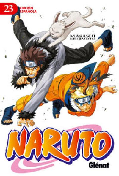 Cover for Naruto (Ediciones Glénat, 2002 series) #23