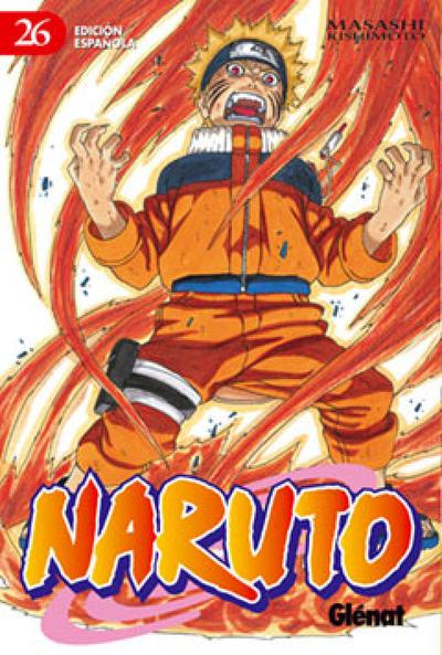 Cover for Naruto (Ediciones Glénat, 2002 series) #26