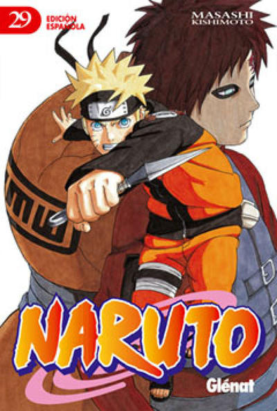 Cover for Naruto (Ediciones Glénat, 2002 series) #29