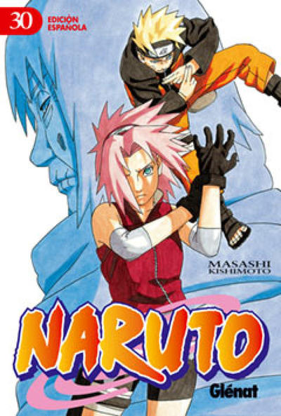 Cover for Naruto (Ediciones Glénat, 2002 series) #30