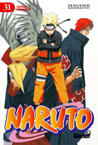 Cover for Naruto (Ediciones Glénat, 2002 series) #31