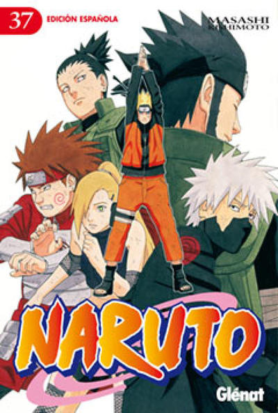 Cover for Naruto (Ediciones Glénat, 2002 series) #37