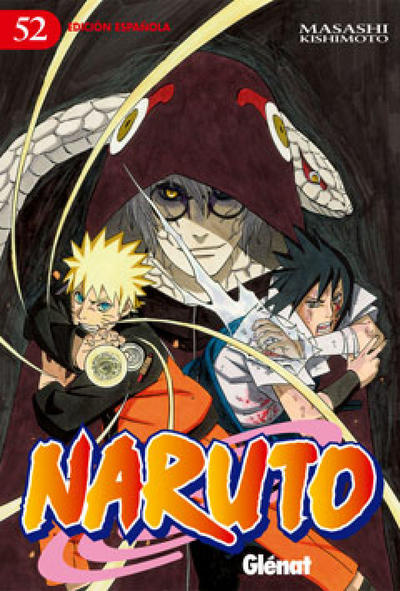 Cover for Naruto (Ediciones Glénat, 2002 series) #52