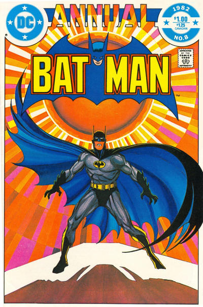 Cover for Batman Annual (DC, 1961 series) #8 [Newsstand]