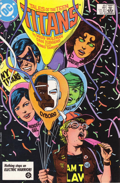 Cover for Tales of the Teen Titans (DC, 1984 series) #65 [Direct Sales]