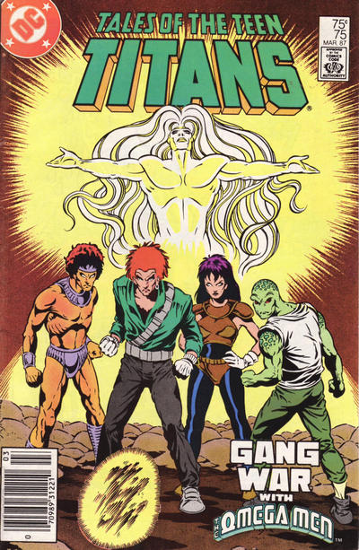 Cover for Tales of the Teen Titans (DC, 1984 series) #75 [Newsstand]