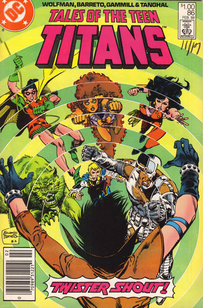 Cover for Tales of the Teen Titans (DC, 1984 series) #86 [Newsstand]