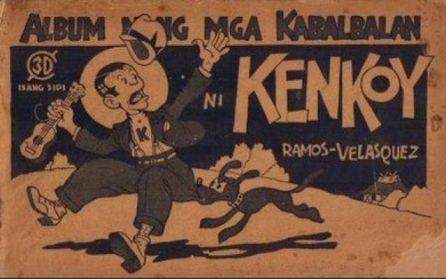 Cover for Album ng Mga Kabalbalan ni Kenkoy (Liwayway Publishing, Inc., 1934 series) #[nn]