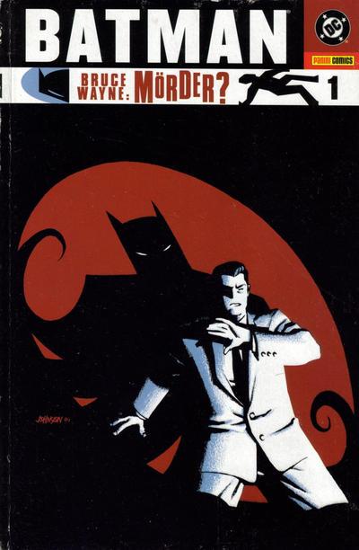 Cover for Batman: Bruce Wayne - Mörder? (Panini Deutschland, 2003 series) #1