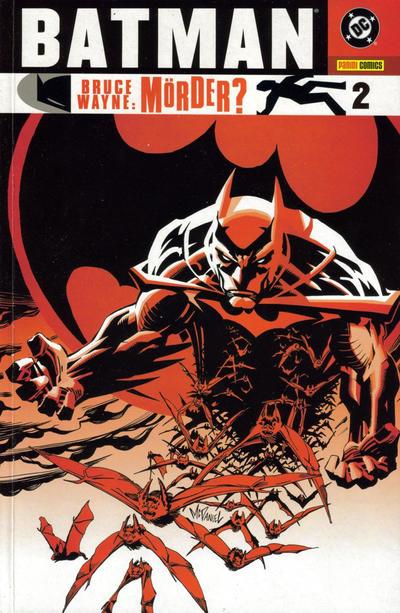 Cover for Batman: Bruce Wayne - Mörder? (Panini Deutschland, 2003 series) #2