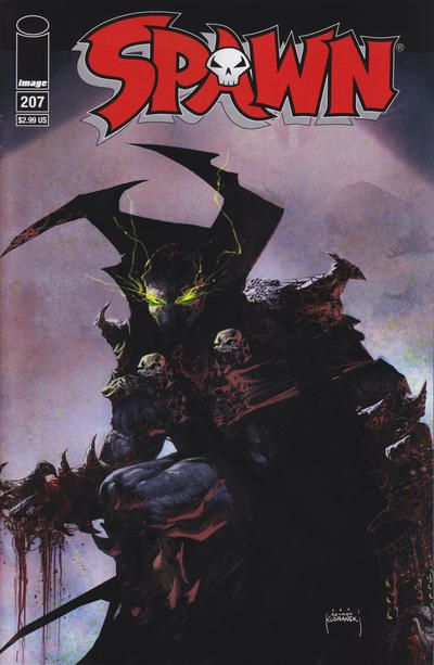 Cover for Spawn (Image, 1992 series) #207