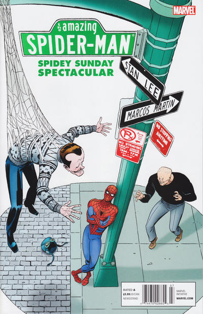 Cover for Spidey Sunday Spectacular! (Marvel, 2011 series) #1 [Direct]