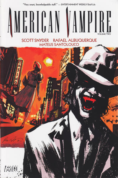 Cover for American Vampire (DC, 2010 series) #2