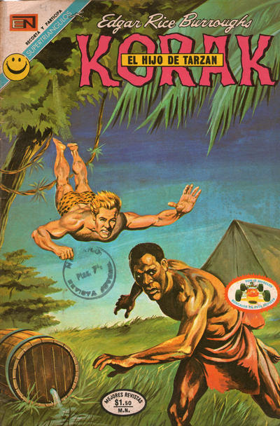 Cover for Korak (Editorial Novaro, 1972 series) #4