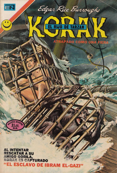 Cover for Korak (Editorial Novaro, 1972 series) #5