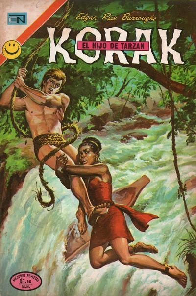 Cover for Korak (Editorial Novaro, 1972 series) #6