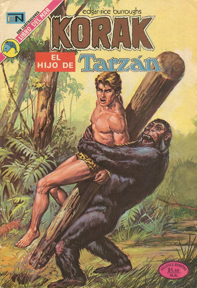 Cover for Korak (Editorial Novaro, 1972 series) #14