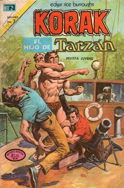 Cover for Korak (Editorial Novaro, 1972 series) #19