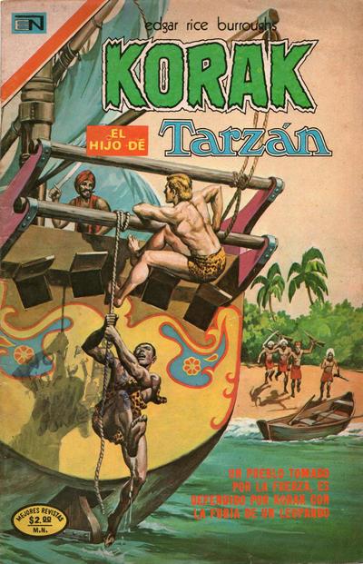 Cover for Korak (Editorial Novaro, 1972 series) #24