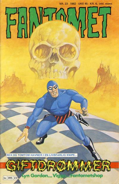 Cover for Fantomet (Semic, 1976 series) #23/1982